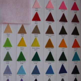 Acrylic Felt Colors
